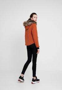 ONLY - ONLNEW SKYLAR - Zimní kabát - ginger bread - 2