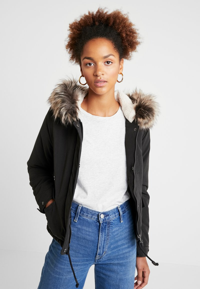 ONLY - ONLNEW SKYLAR - Winter coat - black