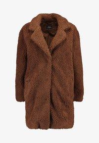 ONLY - ONLAURELIA SHERPA COAT - Zimní kabát - potting soil - 4