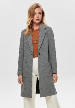 ONLASTRID LINDA COAT - Manteau court - medium grey melange
