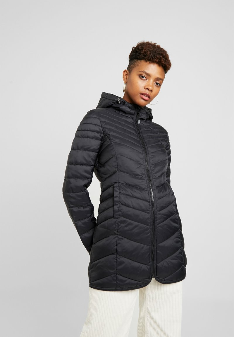 ONLY - ONLDEMI QUILTED COAT - Korte frakker - black