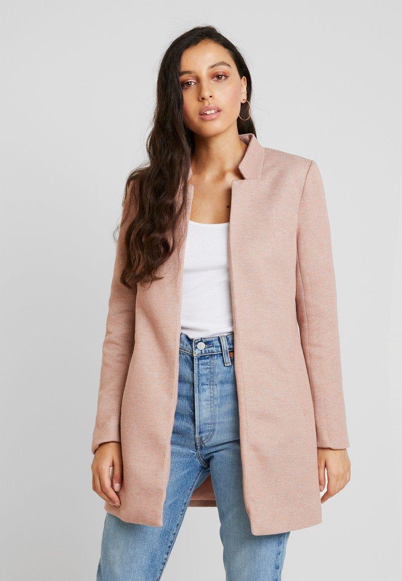 ONLY - ONLSOHO LIGHT COATIGAN  - Krátký kabát - mocha mousse