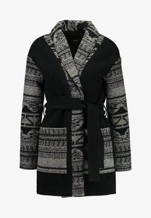 ONLWILLOW NORDIC COATIGAN - Zimní bunda - black