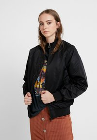 ONLY - ONLVITO THERESE JACKET - Bomber bunda - black - 0
