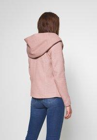 ONLY - ONLSEDONA LIGHT JACKET - Summer jacket - mocha mousse/melange - 2