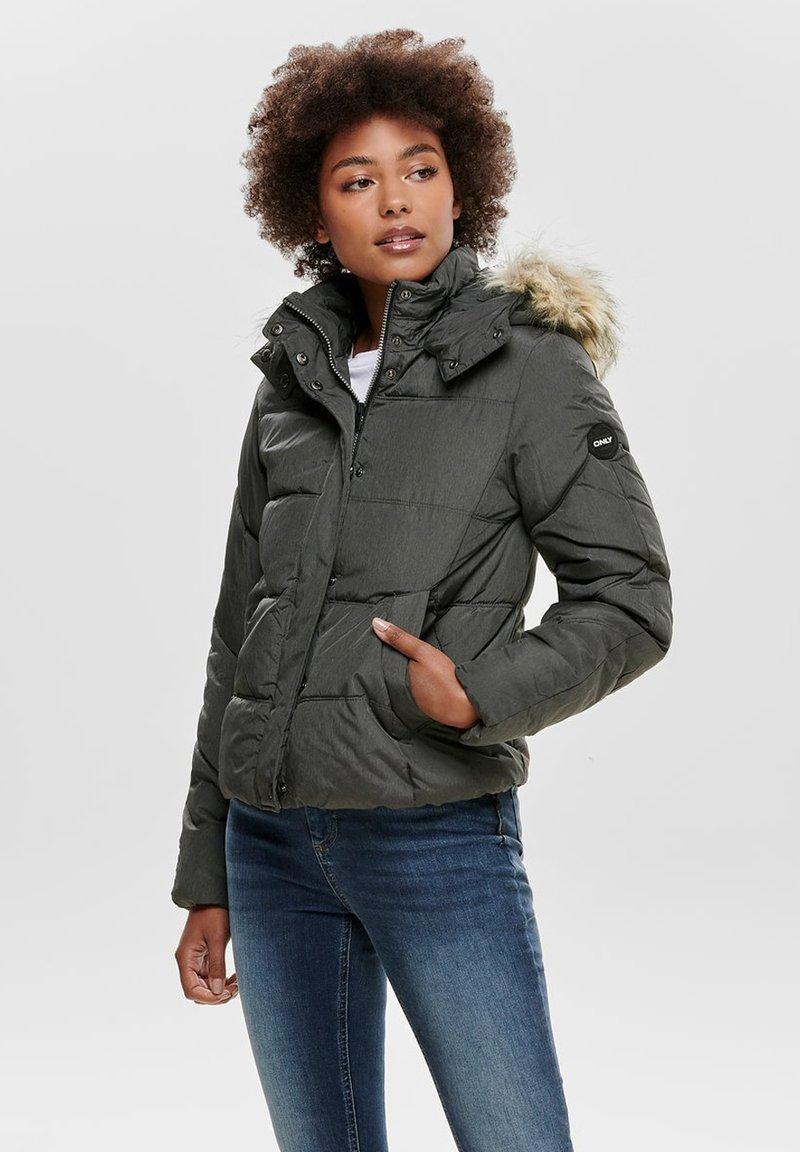 ONLY - ONLNORTH JACKET - Light jacket - black