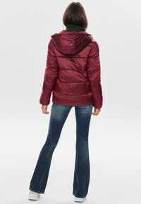 ONLY - ONLNAIOMI  - Winter jacket - merlot - 2