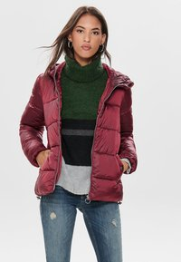 ONLY - ONLNAIOMI  - Winter jacket - merlot - 0