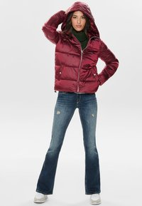 ONLY - ONLNAIOMI  - Winter jacket - merlot - 1