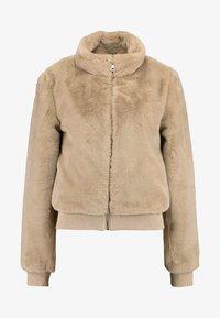 ONLY - ONLAURA BOMBER  - Zimní bunda - beige - 4