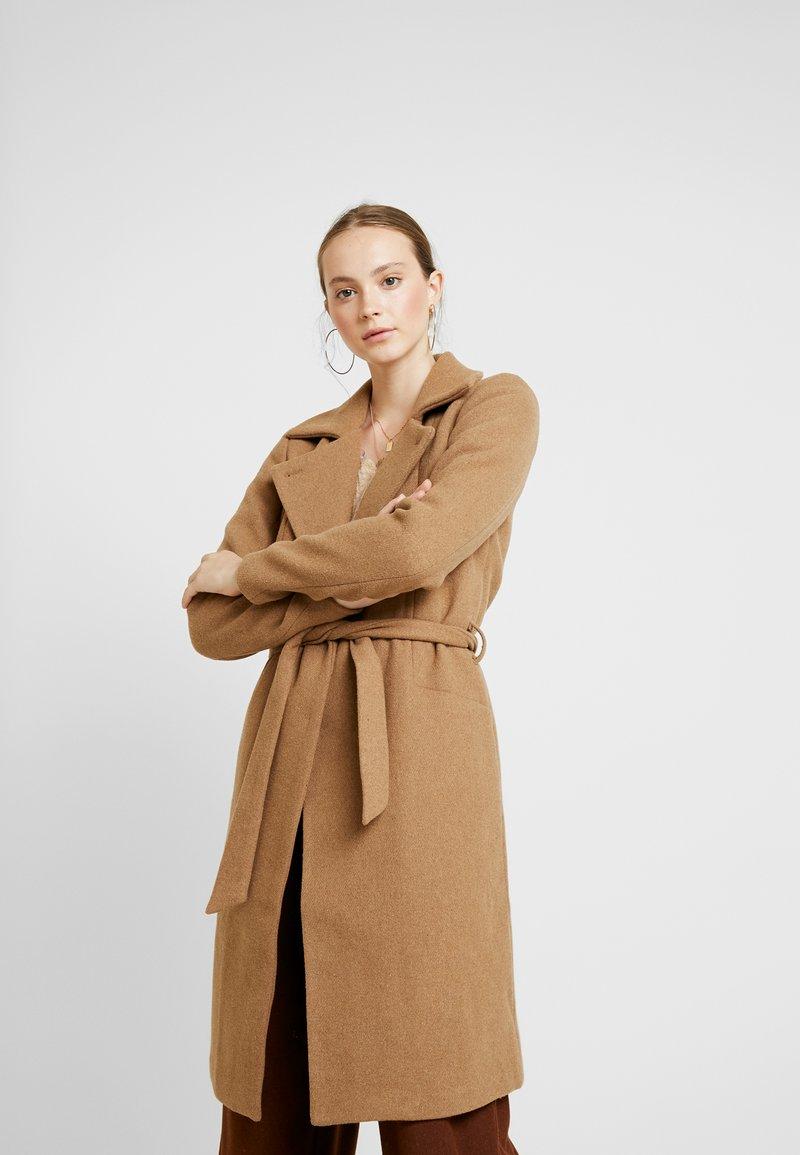 ONLY - ONLNAYLA RIANNA COAT - Zimní kabát - camel/melange