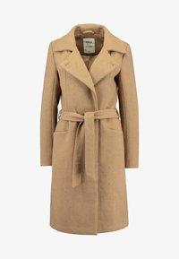 ONLY - ONLNAYLA RIANNA COAT - Zimní kabát - camel/melange - 3