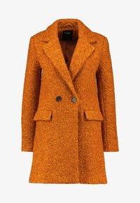 ONLY - ONLALLY  - Krátký kabát - pumpkin spice/melange - 4