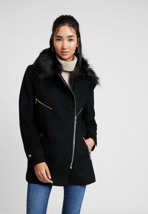 ONLCAROL BIKER COAT - Classic coat - black