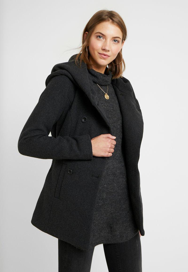 ONLY - ONLLISA RIANNA  - Lehká bunda - dark grey melange