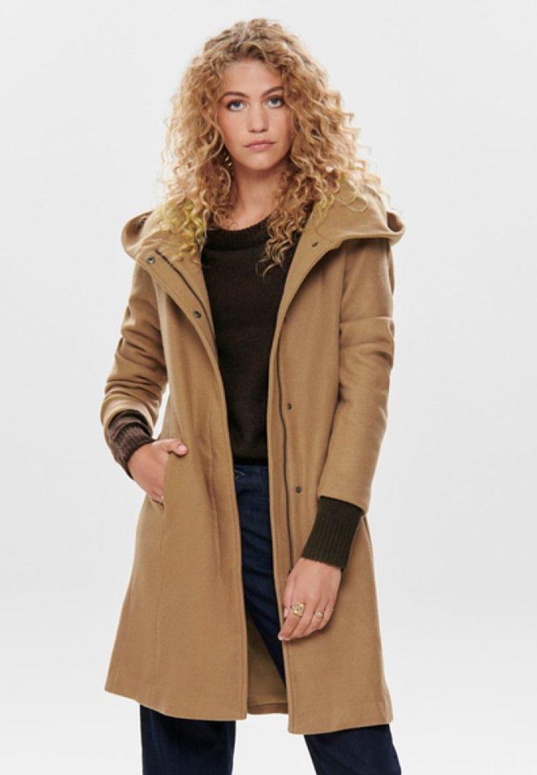 ONLY - ONLSEDONA - Classic coat - camel
