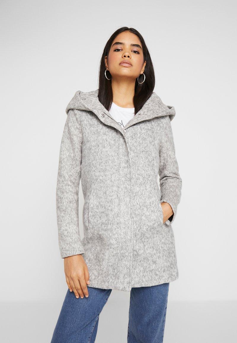 ONLY - ONLSEDONA MARIE COAT - Short coat - medium grey melange