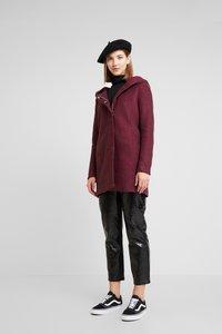 ONLY - ONLSEDONA MARIE COAT - Krátký kabát - tawny port/melange - 1