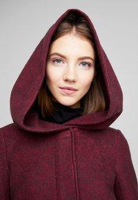 ONLY - ONLSEDONA MARIE COAT - Krátký kabát - tawny port/melange - 4
