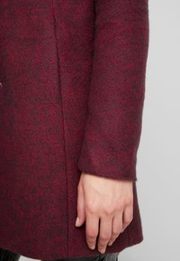 ONLY - ONLSEDONA MARIE COAT - Krátký kabát - tawny port/melange - 6