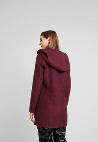 ONLY - ONLSEDONA MARIE COAT - Krátký kabát - tawny port/melange - 2
