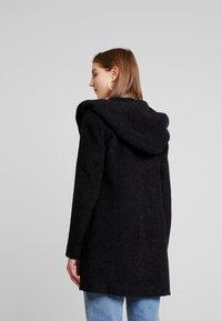 ONLY - ONLSEDONA MARIE COAT - Halflange jas - black melange - 2