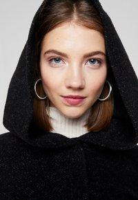 ONLY - ONLSEDONA MARIE COAT - Cappotto corto - black melange - 5