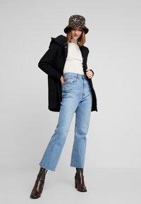 ONLY - ONLSEDONA MARIE COAT - Cappotto corto - black melange - 1