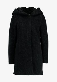 ONLY - ONLSEDONA MARIE COAT - Short coat - black melange - 4