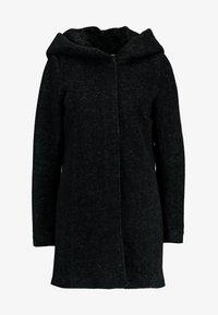 ONLY - ONLSEDONA MARIE COAT - Cappotto corto - black melange - 4
