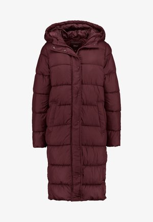 ONLCAMMIE LONG QUILTED COAT - Zimní kabát - port royale