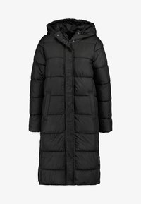ONLY - ONLCAMMIE LONG QUILTED COAT - Winterjas - black - 5