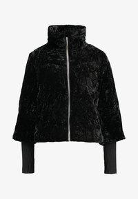 ONLY - ONLMEG SHORT MIX JACKET - Veste d'hiver - black - 4