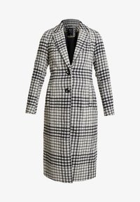 ONLY - ONLROMINA CHECK COAT - Classic coat - feather gray/blue graphite - 3