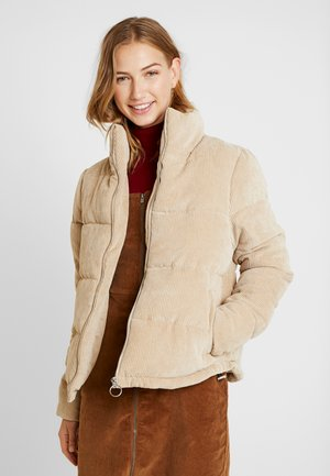 ONLCOLE PADDED JACKET - Chaqueta de invierno - beige