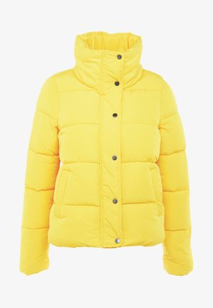 ONLCOOL PUFFER JACKET - Zimní bunda - lemon