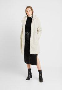 ONLY - ONLEMMA COAT  - Zimní kabát - pumice stone - 1