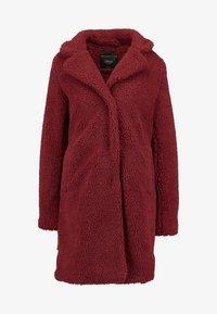 ONLY - ONLEMMA COAT  - Zimní kabát - merlot - 3