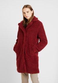 ONLY - ONLEMMA COAT  - Zimní kabát - merlot - 0
