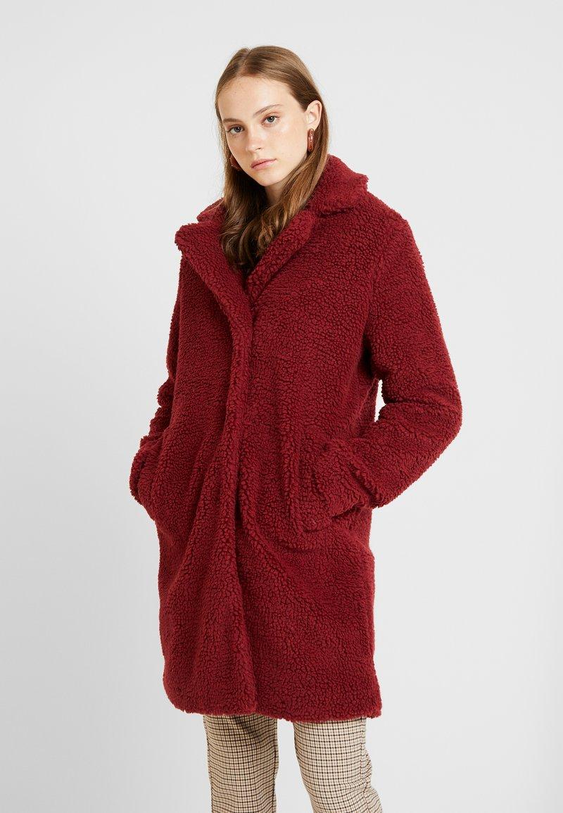 ONLY - ONLEMMA COAT  - Zimní kabát - merlot