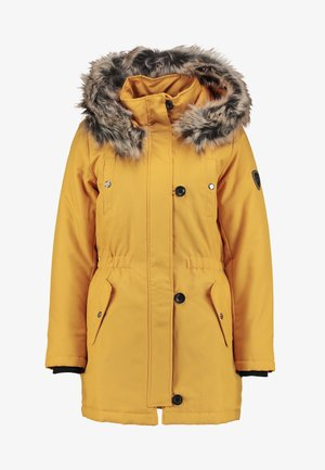 ONLIRIS - Vinterkåpe / -frakk - golden yellow