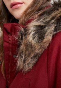 ONLY - ONLIRIS - Zimní kabát - merlot - 6