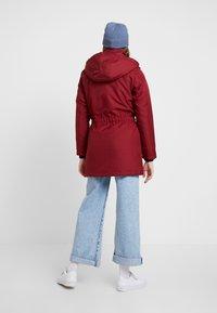 ONLY - ONLIRIS - Zimní kabát - merlot - 3
