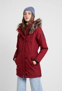 ONLY - ONLIRIS - Zimní kabát - merlot - 0