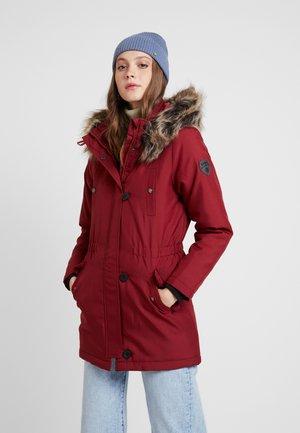 ONLIRIS - Zimní kabát - merlot