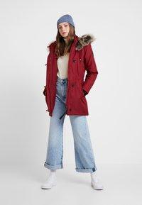 ONLY - ONLIRIS - Zimní kabát - merlot - 1