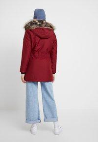 ONLY - ONLIRIS - Zimní kabát - merlot - 2