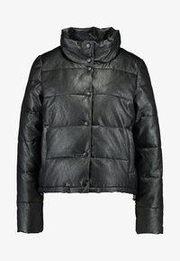 ONLY - ONLSHELA PUFFER JACKET - Zimní bunda - black - 4