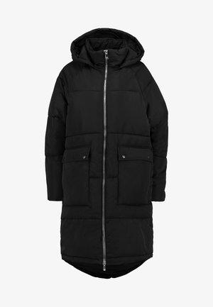 ONLGABI OVERSIZED LONG COAT - Winter coat - black