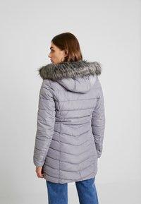 ONLY - ONLELLAN QUILTED HOOD - Krátký kabát - silver filigree - 2